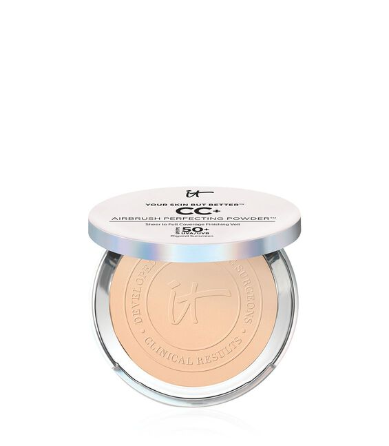 Your Skin But Better CC+ Airbrush Perfecting Powder SPF 50+ Tan Category