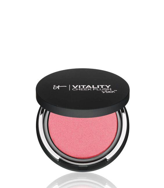 Vitality Cheek Flush Powder Blush Stain - Pretty in Peony Main