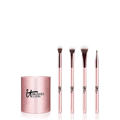 Rose Gold Eye Makeup Brush Set It