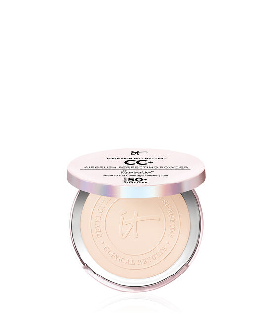 Your Skin But Better™ CC+ Airbrush Perfecting Powder Illumination™ with SPF 50+