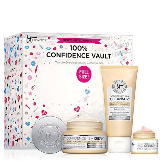 100% Confidence Vault Skincare Set ($73 value)