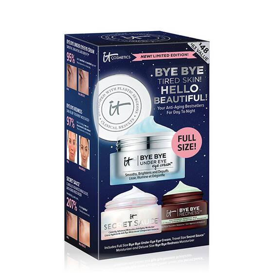 Bye Bye Tired Skin! Hello Beautiful! Skincare Set  ($63 Value)