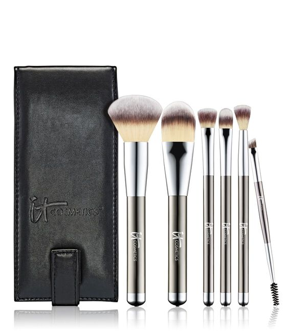 Limited Edition- Heavenly Luxe® 6 Piece Brush Set with Travel Case Main Image
