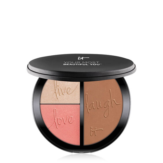 Your Most Beautiful You™ Anti-Aging Matte Bronzer, Radiance Luminizer & Brightening Blush Palette