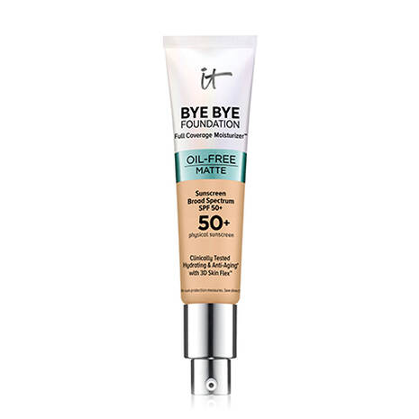 Bye Bye Foundation Oil-Free Matte Full Coverage Moisturizer™ with SPF 50+