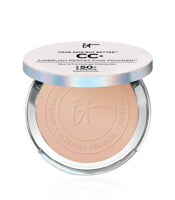 Your Skin But Better CC+ Airbrush Perfecting Powder SPF 50+ Light Main