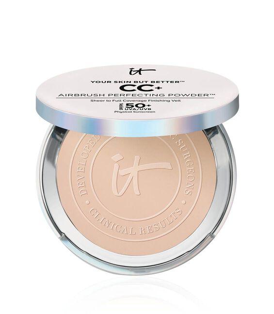 Your Skin But Better CC+ Airbrush Perfecting Powder SPF 50+ Fair Main