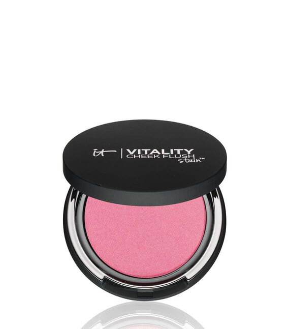 Vitality Cheek Flush Powder Blush Stain - Radiant in Rose Main