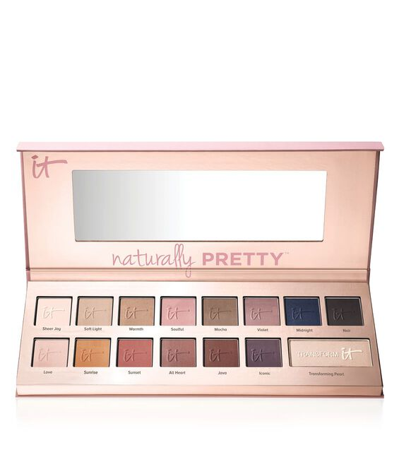Naturally Pretty Vol. 1 Matte Luxe Transforming Eyeshadow Palette Main