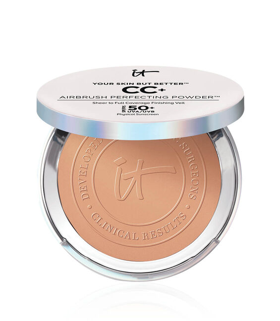 Your Skin But Better CC+ Airbrush Perfecting Powder SPF 50+ Rich Main