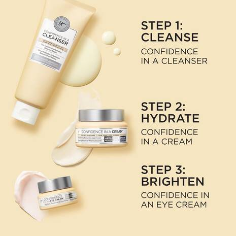 Confidence in Your Eye-Brightening IT Skincare Routine