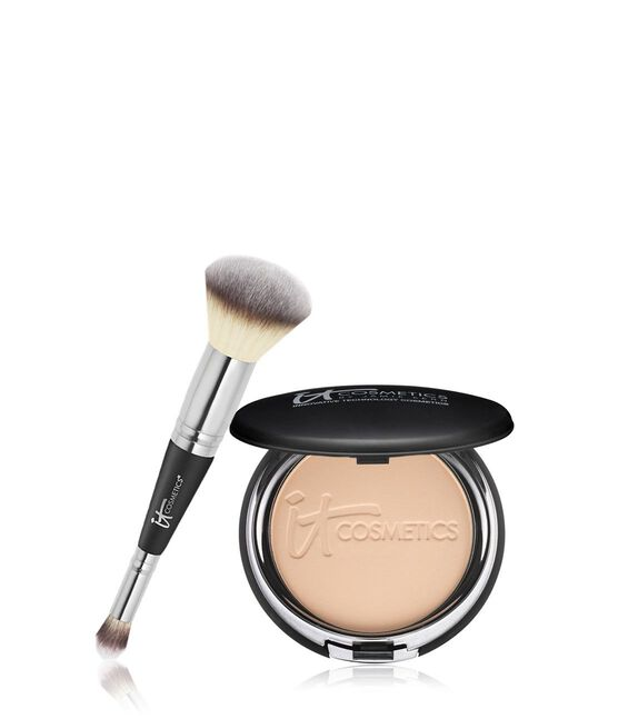 Celebration Foundation Confidence in a Compact  Duo Medium Beige