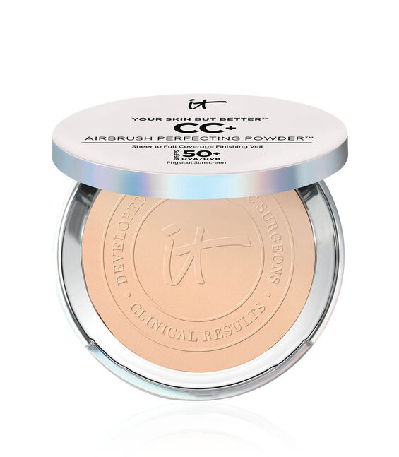 Your Skin But Better CC+ Airbrush Perfecting Powder SPF 50+ Tan Main