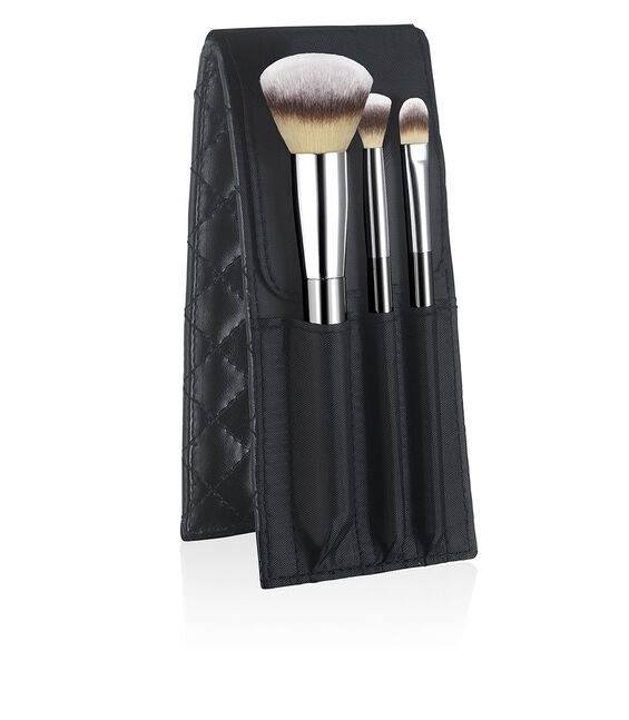 Heavenly Luxe™ 6-Piece Travel Brush Set + Case