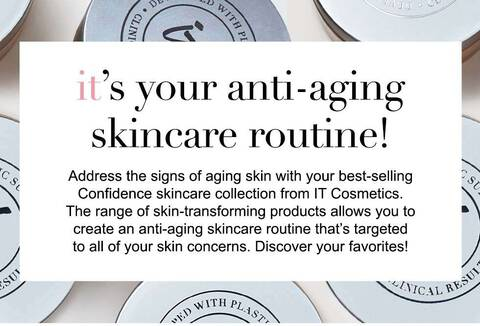 It's your ant-aging skincare routine
