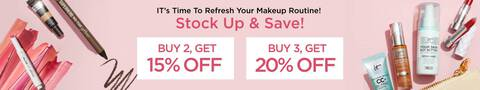 Stock up and save! Buy 2 and get 15% off, buy 3 and get 20% off