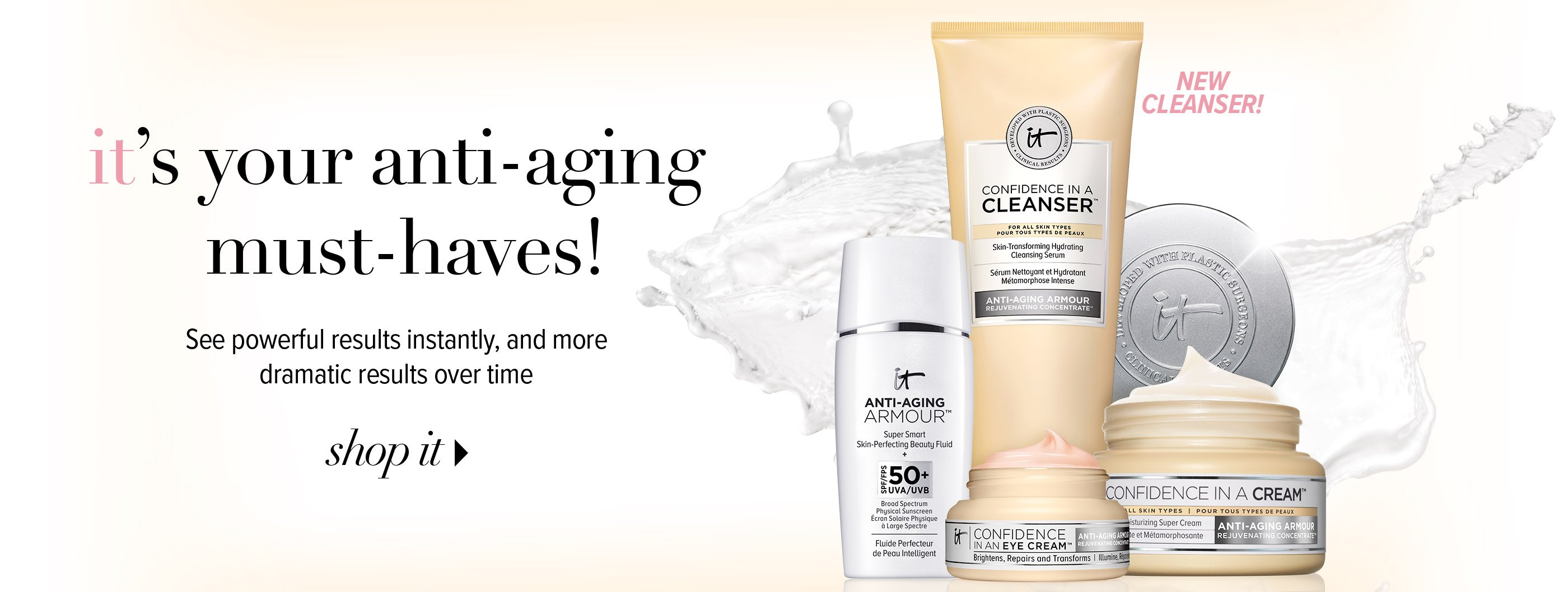 Anti-Aging Must Haves